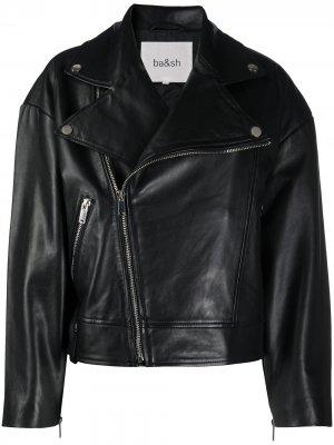 Байкерская куртка Ba&Sh. Цвет: черный