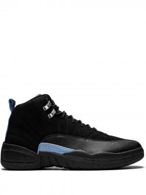Кроссовки Air  12 Retro Jordan. Цвет: черный