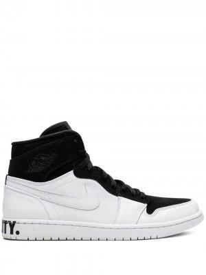 Кроссовки Air  1 Retro Hi Equality Jordan. Цвет: черный