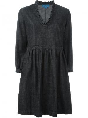 Платье Miller Mih Jeans. Цвет: черный