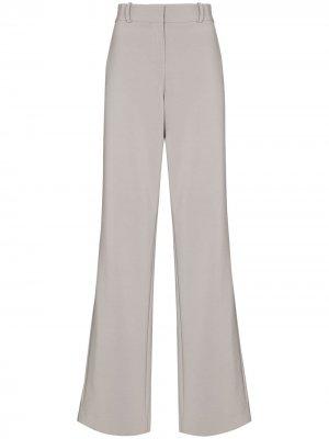 Расклешенные брюки с завышенной талией Paris Georgia. Цвет: серый