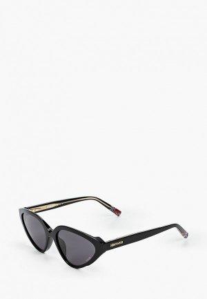 Очки солнцезащитные Missoni. Цвет: черный