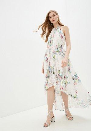 Платье Ted Baker London. Цвет: белый