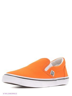 Слипоны 4U. Цвет: оранжевый