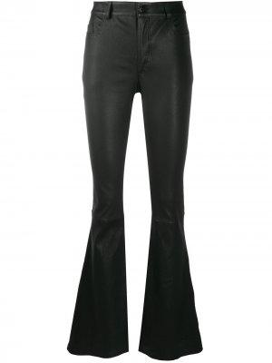 Расклешенные брюки Desa 1972. Цвет: черный