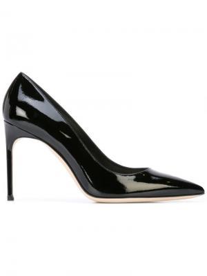 Классические туфли-лодочки с заостренным носком Brian Atwood. Цвет: черный