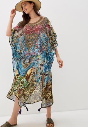Платье пляжное Allegri. Цвет: разноцветный
