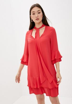 Платье Blugirl Folies. Цвет: красный