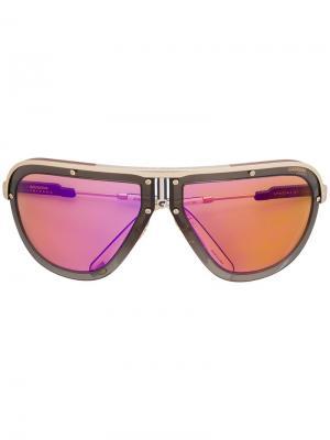 Солнцезащитные очки Americana Carrera. Цвет: синий