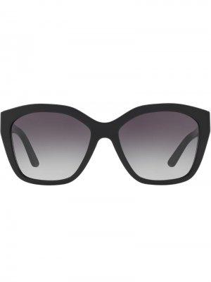 Солнцезащитные очки Burberry Eyewear. Цвет: черный