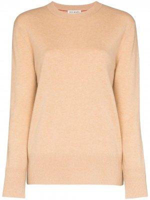 Кашемировый свитер с круглым вырезом Ply-Knits. Цвет: нейтральные цвета