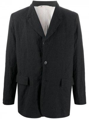 Однобортный пиджак Casey. Цвет: серый