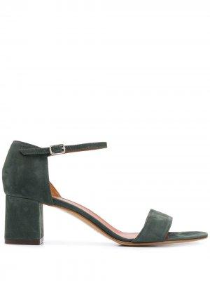 Босоножки Lila на блочном каблуке Michel Vivien. Цвет: зеленый