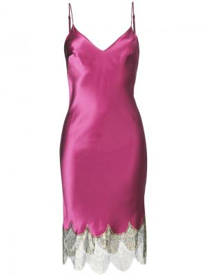 Сорочка Bloomsbury Gilda & Pearl. Цвет: розовый и фиолетовый