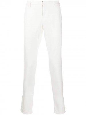 Узкие джинсы Dondup. Цвет: белый