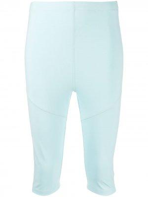 Облегающие шорты Styland. Цвет: синий