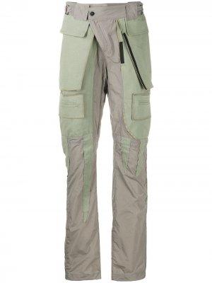Зауженные брюки Ottolinger. Цвет: серый
