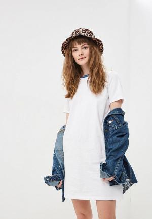 Платье Vans. Цвет: белый