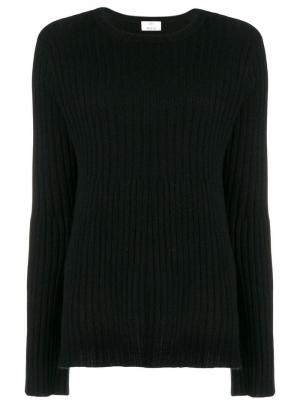 Ribbed knit jumper Allude. Цвет: черный