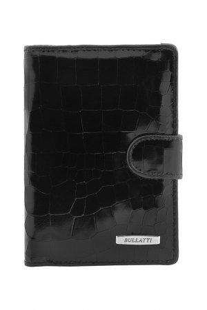 Обложка для документов Bullatti. Цвет: черный