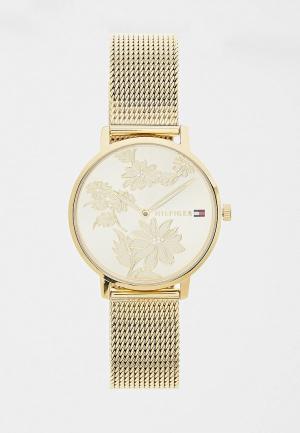 Часы Tommy Hilfiger. Цвет: золотой