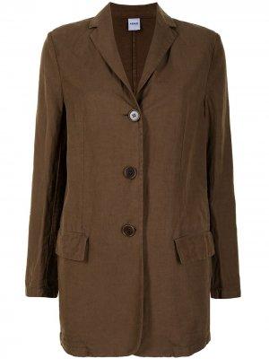Куртка-рубашка на пуговицах Aspesi. Цвет: коричневый
