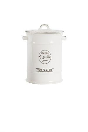 Ёмкость для хранения печенья T&G. Цвет: белый