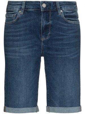 Джинсовые шорты Jax PAIGE. Цвет: синий