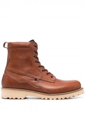 Ботинки дезерты Woolrich. Цвет: коричневый