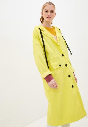 Плащ Baon. Цвет: желтый