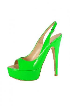 Босоножки Taccetti. Цвет: зеленый