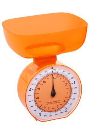 Весы кухонные, 5 кг Федерация. Цвет: оранжевый