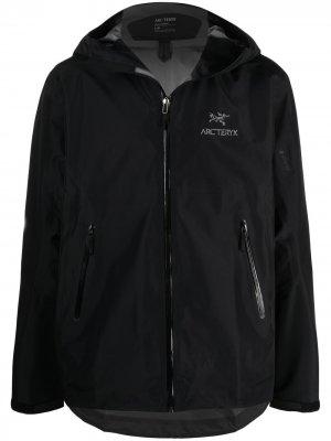 Arcteryx легкая куртка Beta Arc'teryx. Цвет: черный