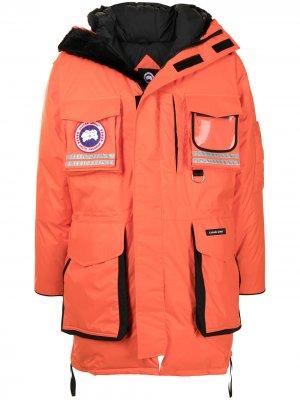 Пуховик Snow Mantra Canada Goose. Цвет: оранжевый