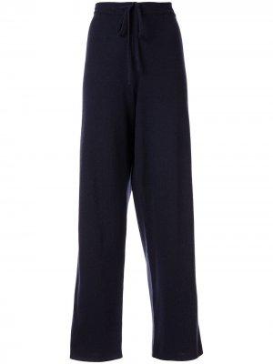 Пижамные брюки Heart Chinti and Parker. Цвет: черный