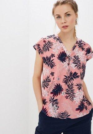 Блуза Jack Wolfskin. Цвет: розовый
