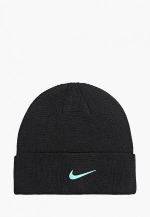 Шапка Nike. Цвет: черный