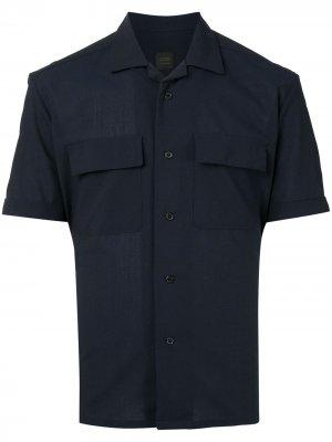 Durban рубашка с кубинским воротником D'urban. Цвет: синий