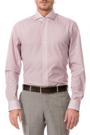 Рубашка Colletto Bianco. Цвет: бордовый