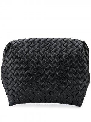Чехол для ноутбука с плетением Intrecciato Bottega Veneta. Цвет: черный