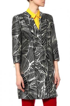 Пальто Pennyblack. Цвет: 003-black pattern
