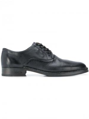 Lace-up derby shoes John Varvatos. Цвет: черный