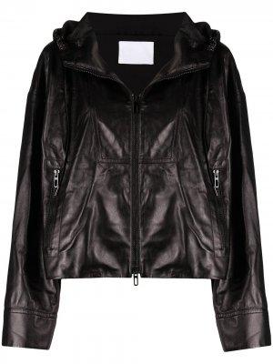 Куртка на молнии Drome. Цвет: черный