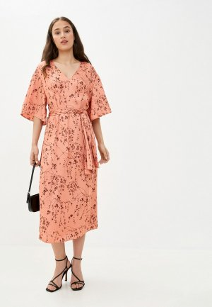 Платье Twist & Tango. Цвет: коралловый