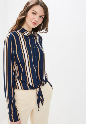 Рубашка Roxy. Цвет: синий