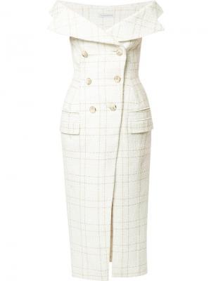 Платье-пальто CAMILLA AND MARC. Цвет: белый