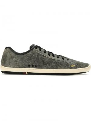 Leather lace-up sneakers Osklen. Цвет: 10