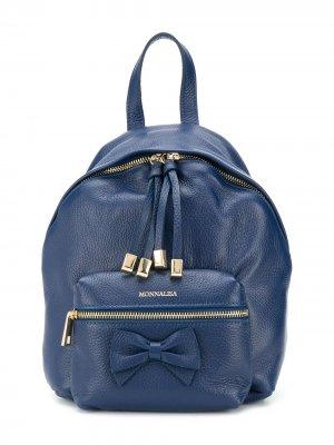Рюкзак с бантом Monnalisa. Цвет: синий