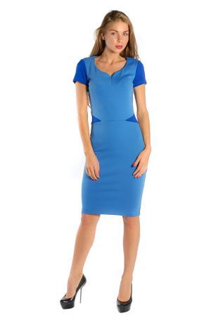 Платье LuAnn. Цвет: голубой