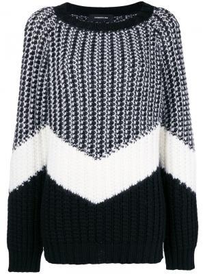 Striped jumper Barbara Bui. Цвет: черный